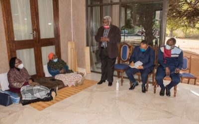 Condolence Visit to The Family of the Late Zulu Monarchs