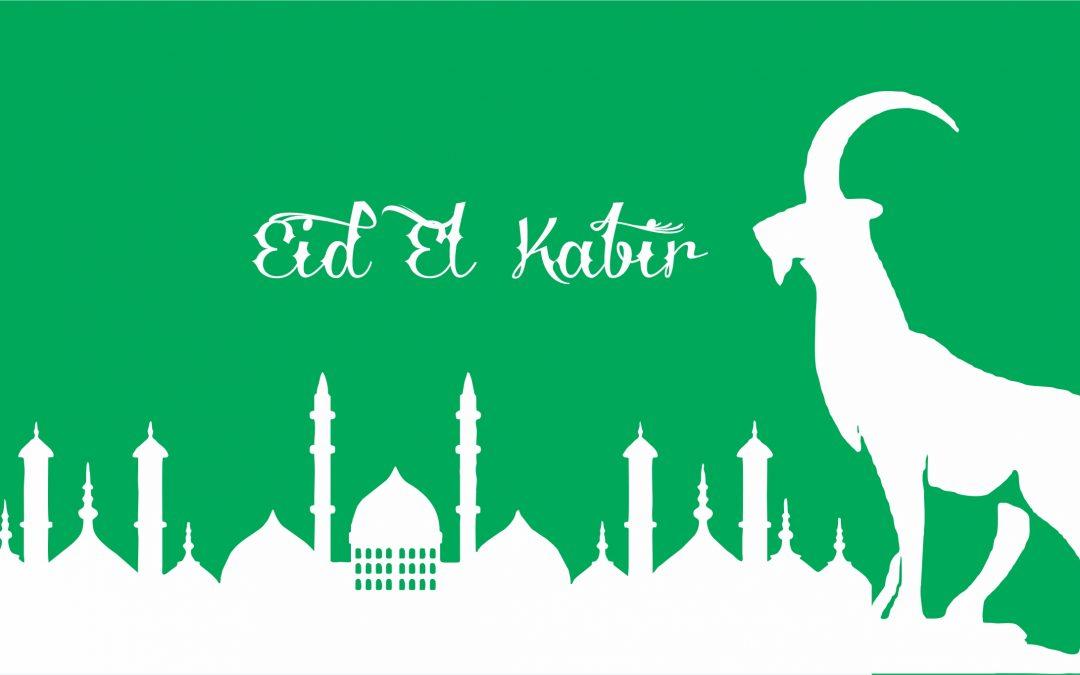 20th and 21st July – Eid-El Kabir Holiday