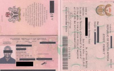 Certified Passport/Permit Copies for Identification